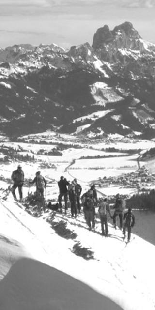 Skibergsteigen historisches Foto Manfred Scheuermann