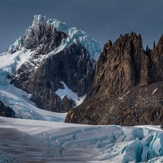 Cerro Grande heute: Schutt und Eis. Foto: Ralf Gantzhorn