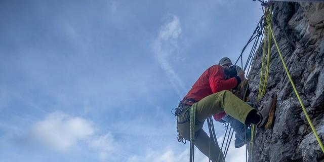 Seile übernehmen am Berg eine wichtige Sicherungsfunktion. Foto: DAV/Sandra Kugler