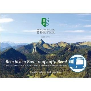Bergsteigerbus Kreuth 2018