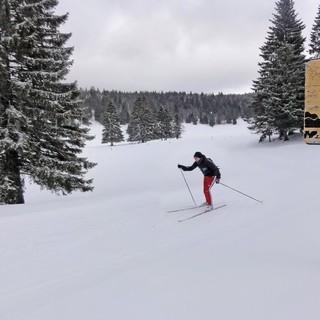 Am Mont d'Or - <p>Am Mont d'Or zweigt an der Alm Petite Echelle (kleine Leiter) die schweizer Variante des TJS vom französischen Hauptweg GTJ ab. Die Alphütte ist sogar im Winter bewirtschaftet.</p>