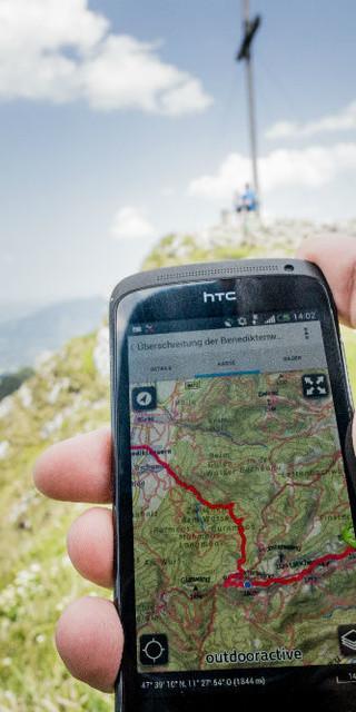 Tourenplanung mit alpenvereinaktiv, Foto: DAV/Hans Herbig