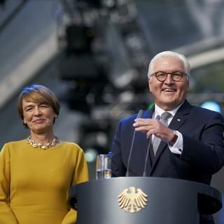 Bundespräsident Steinmeier mit Frau Bürgerfest 2018