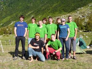 Gruppenfoto Göschenen