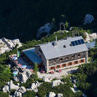 Die Blaueishütte trägt das Umweltgütesiegel, Foto: DAV/Wolfgang Ehn