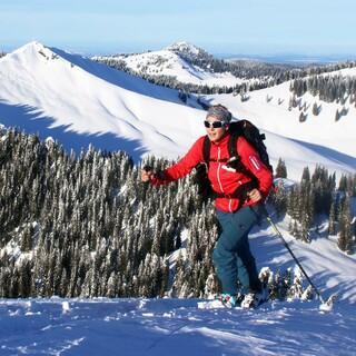 In den Bayerischen Alpen herrscht am Wochenende sonniges und kaltes Winterwetter. Foto: DAV/ Pröttel