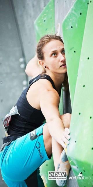 Monika Retschy, Foto: DAV/Vertical Axis