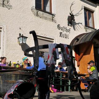 Stärkung beim Kölblwirt in Johnsbach. Foto: Stefan Herbke