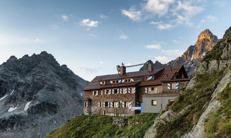 Saarbrücker Hütte, Foto: Montafon Tourismus GmbH