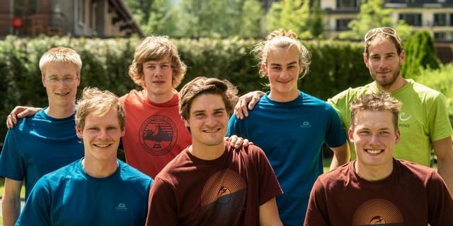 Der Expedkader Männer 2021. Foto: DAV/Silvan Metz