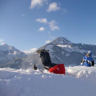 Winterspaß. Foto: Klaus Umbach