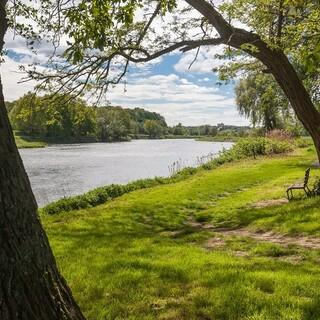 Romantisches Flusswandern ist im Tal der Mulde möglich. Foto: DAV/Ingo Röger
