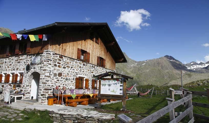 Pforzheimer Hütte - Foto: Mark Zahel