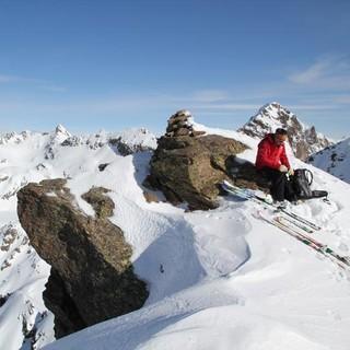 Ischiator Südgipfel - Hoch oben: Auch der Südgipfel des Ischiator ist schon ein richtiger Berg.