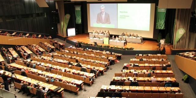DAV Hauptversammlung 2015 in Hamburg, Foto: DAV