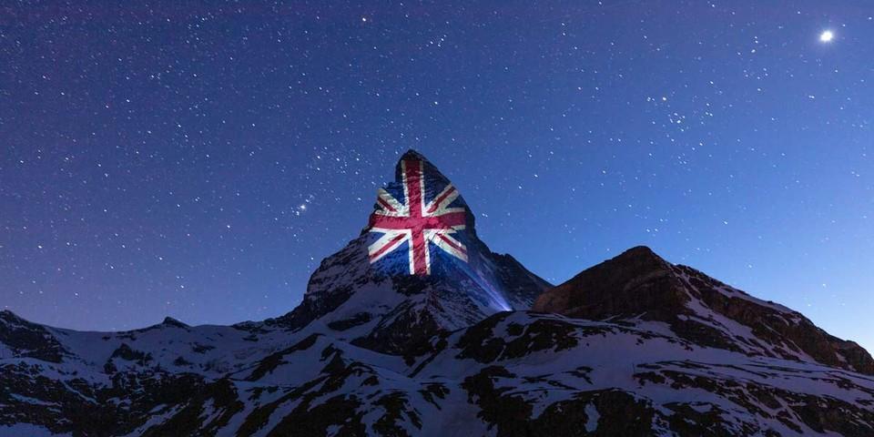 Großbritannien, Beleuchtung am 10. April, Light Art: Gerry Hofstetter/Foto: Frank Schwarzbach