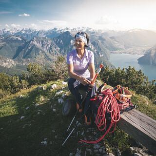 Der perfekte Berg, um für alpine Touren zu trainieren - der Traunstein. Foto: ServusTV/ Frederico Modica