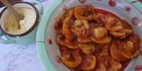 Frisch zubereitet schmecken die Nudeln richtig gut in San Bernolfo. Foto: Joachim Chwaszcza