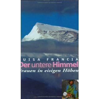 Buchcover Frau Bergsteigen: Der untere Himmel