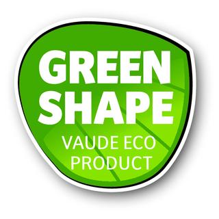 Das Green Shape Siegel von VAUDE steht für nachhaltige und umweltfreundliche Materialien. Bild: VAUDE