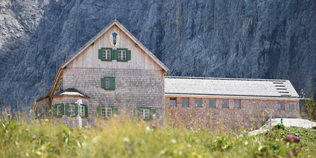 Unter Denkmalschutz - der historische Hüttenteil, Foto: DAV-Sektion Oberland, Dominik Sinhart