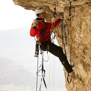 Klettertraining im Bigwallcamp 2009. Foto: DAV / Chris Semmel