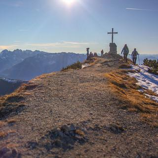 Bergsteigerdörfer Schleching & Sachrang: Geigelsteingipfel. Foto: Chiemgau Tourismus e.V.