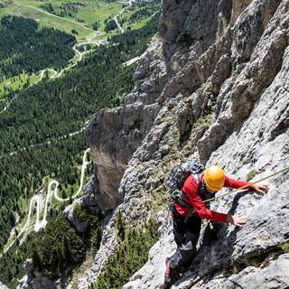 Alpine Klettertour, Foto: Dörte Pietron