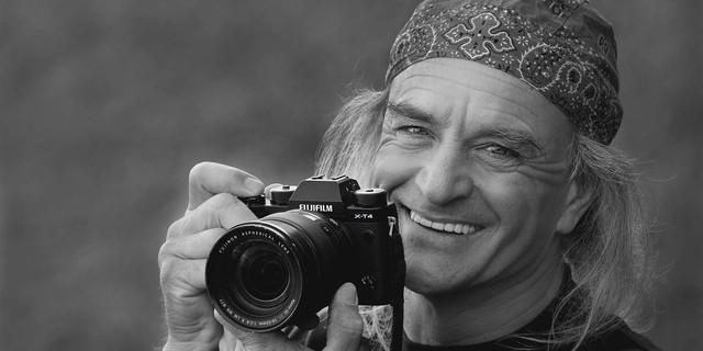 Extremkletterer und Profifotograf Heinz Zak. Foto: Mariya Nesterovska