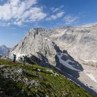 Aufstieg zur Schärtenspitze (Foto: Wolfgang Ehn)