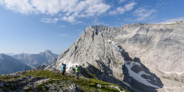 Unterwegs im Nationalpark Berchtesgaden: Schärtenspitze. Foto: DAV/Wolfgang Ehn