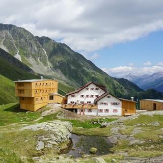 Neue Regensburger Hütte, Foto DAV Martina Ofer