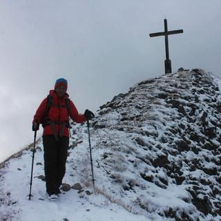 Am Wochenende werden wie hier auf der Schochenspitze unwirtliche Wetterverhältnisse herrschen. Foto: M. Pröttel