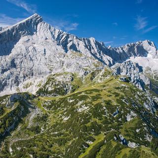 Alpspitze Bodenbender-Luftbild