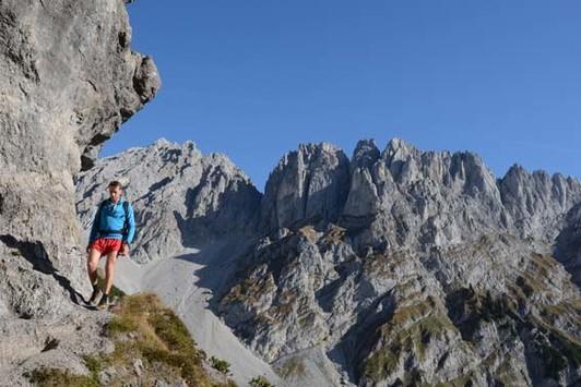 Klettersteig Wilder Kaiser : Auf weg und steig durch den wilden kaiser krönungs trip