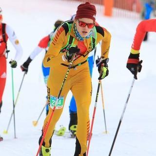 Stefan Knopf im dichten Feld zwischen Platz 2 und Platz 10. Foto: DAV/Seebacher