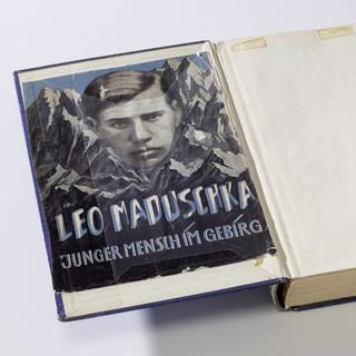 Leo Maduschka – Junger Mensch im Gebirg; Foto: DAV/Archiv