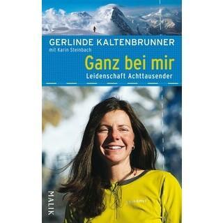 Frau Bergsteigen