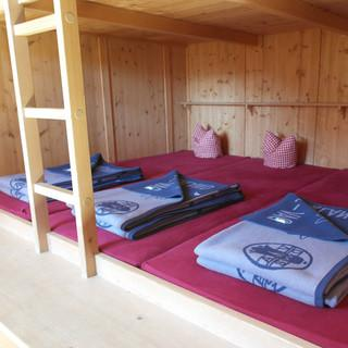 Einladend: Lager in der Johannishütte, Foto: Jonas Kassner