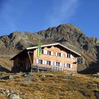 Die Tiefrastenhütte, Foto: Mark Zahel