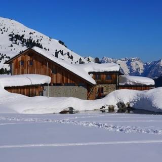 Winter auf der Lizumerhütte, Fotocredits: Tobias Spechter
