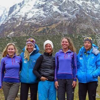 Auf der Abschlussexpedition des Expedkaders der Frauen 2013 im Satling Valley, Indien. Foto: DAV