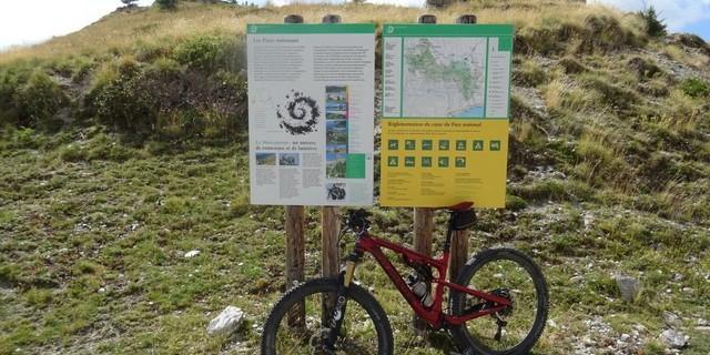 Tag 12: Die Grenze des Nationalparks Mercantour ist kaum zu übersehen.