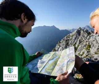 Auf Tour im Bergsteigerdorf Ramsau - Orientierung mit Karte