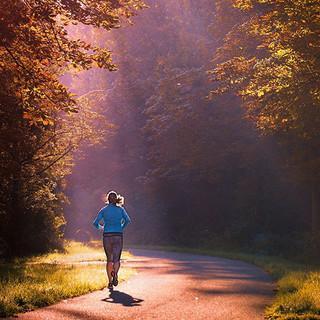 alleine joggen in der Natur, Foto: melahagelslagpixabay
