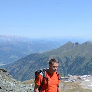 Aufstieg zur Schmiedingerscharte - Nur noch ein paar Meter zur Schmiedingerscharte, dann ist das Skigebiet verlassen
