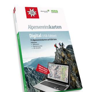 Alpenvereinskarten-Digital-USB-Verpackung fuer Web