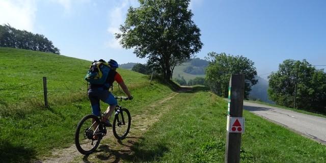 Tag 1: Leichte Trails bringen die Alpencrosser nach Le Sappey.