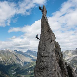 Kletterklassiker im Bergell. Fotos: Ralf Gantzhorn