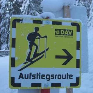 Skitouren auf Pisten